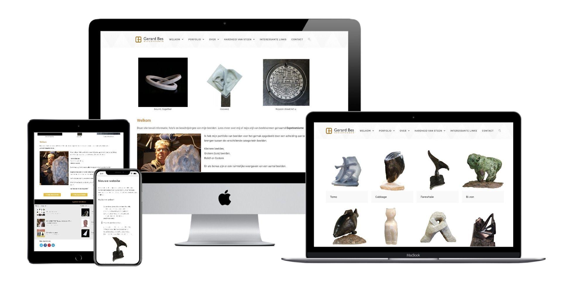 Website Gerard Bes