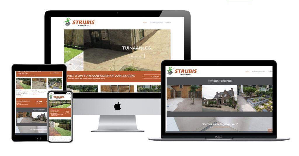 Website Strijbis Tuinaanleg