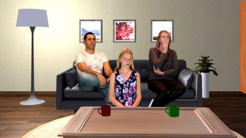 Hybride VR app : Unicef Julia