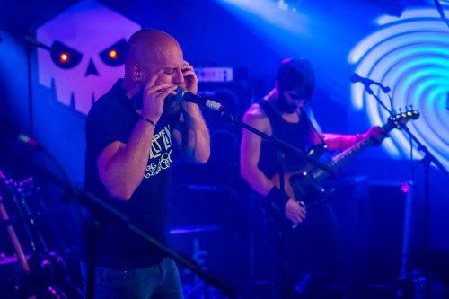 Riot Rock artiesten, gitarist en zanger