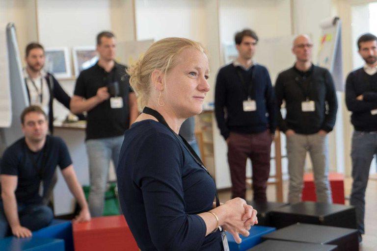 Marjolein van Eers, master facilitator bij THNK