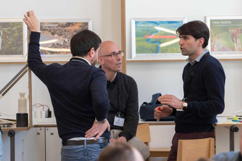 Deelnemers VELA 2019 overleg