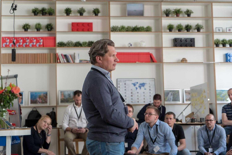 Patrick Leenheers THNK program director