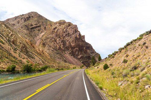 Landschap tijdens de Rockies reis van Route 66 Reizen