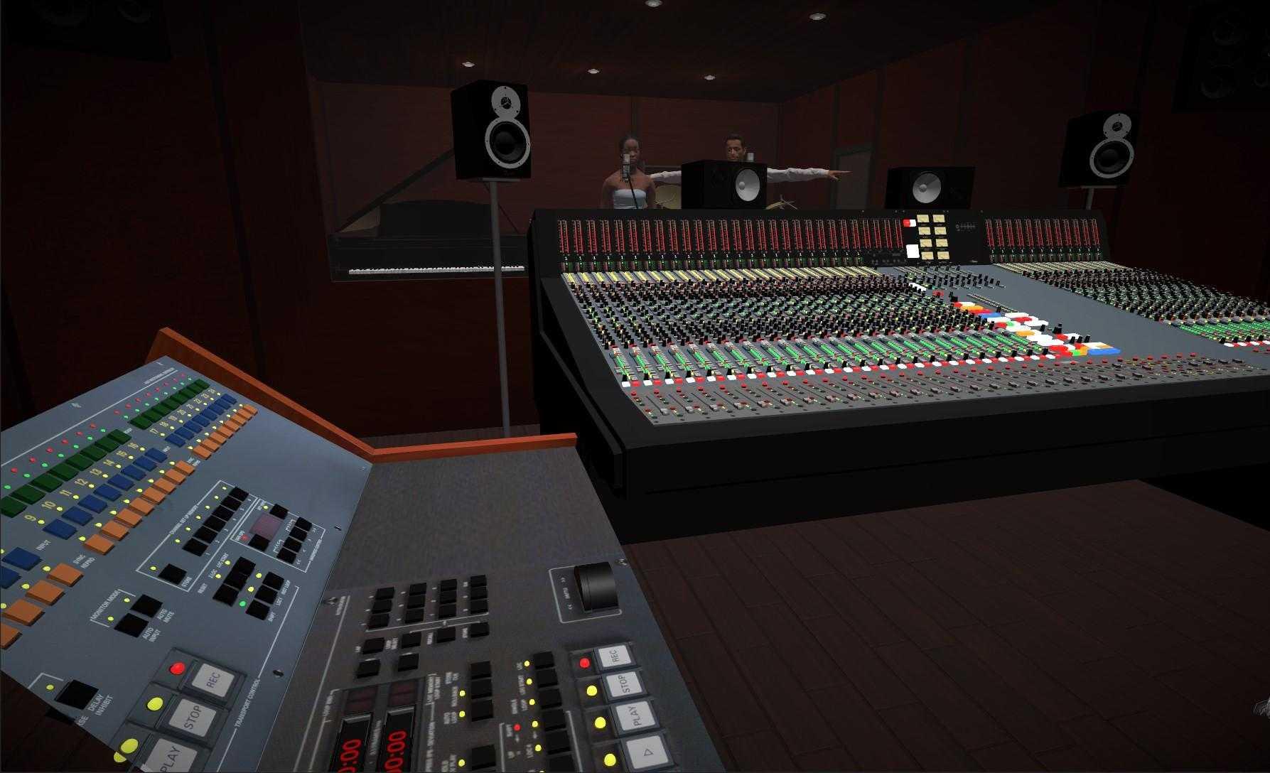 Virtuele opnamestudio VR Soundengineer van AnyMotion