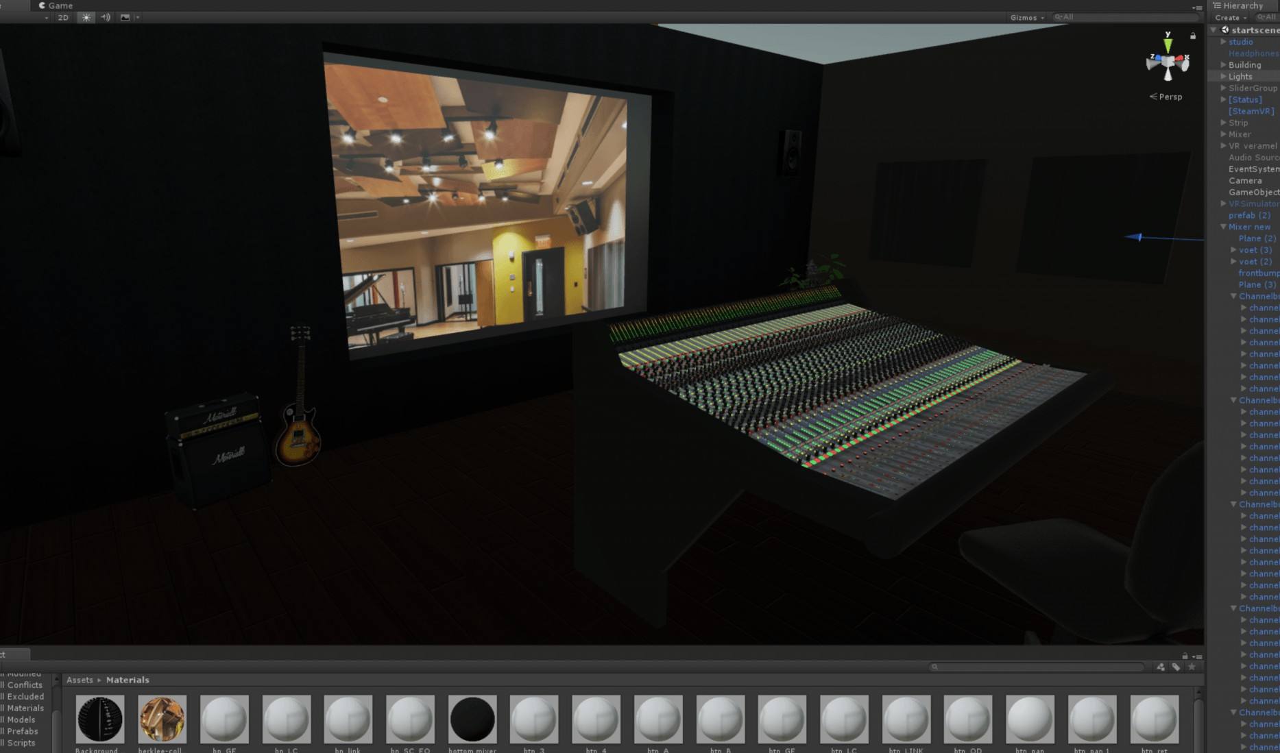 Building the VR Studio 7