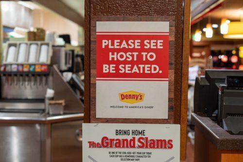 Denny's eetcafe in Amerika