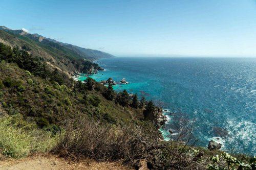 Prachtige kusten van Californië