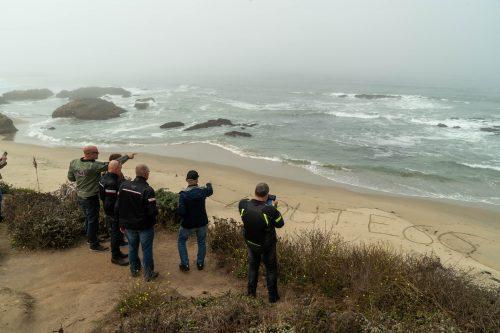 Californian coast mist