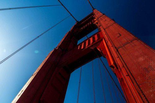 Golden gate brug van San Francisco