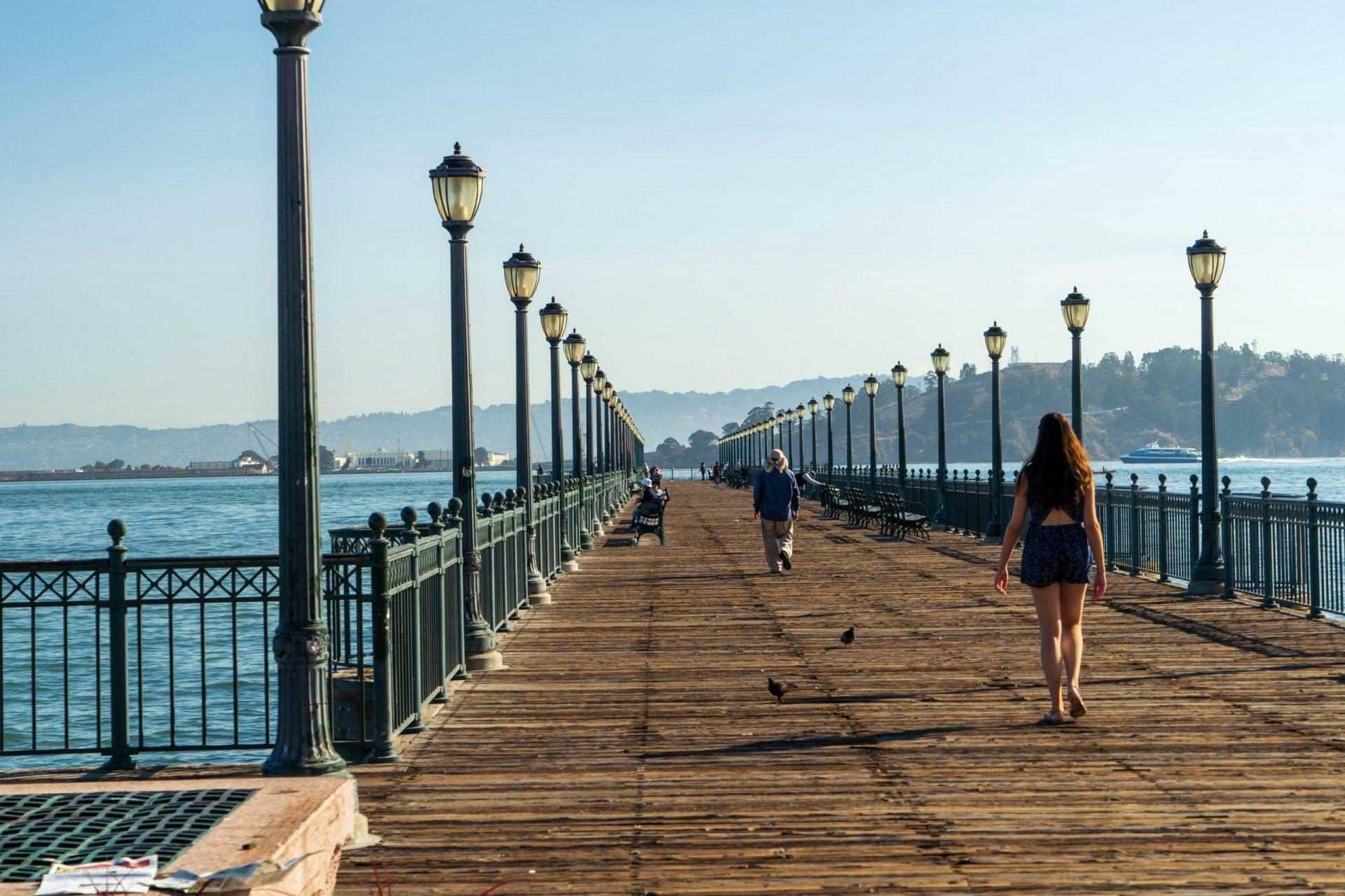 Oude havens en piers van San Francisco