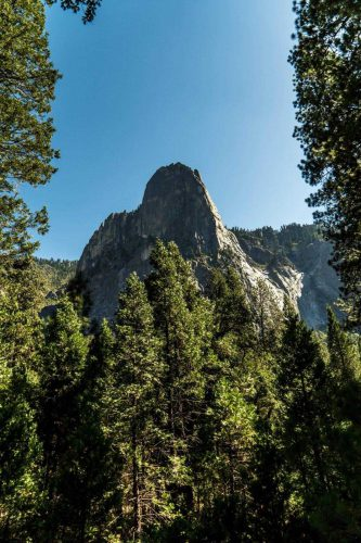 Yosemite National park met El Capitan