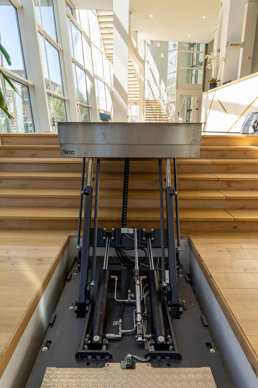 Hydro Plateaulift voor rolstoelen
