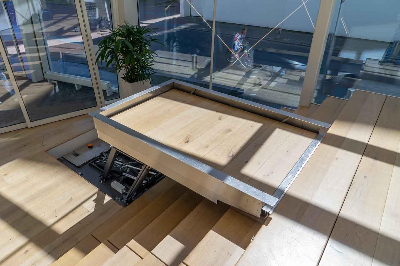 Hydro Plateaulift biedt toegankelijkheid