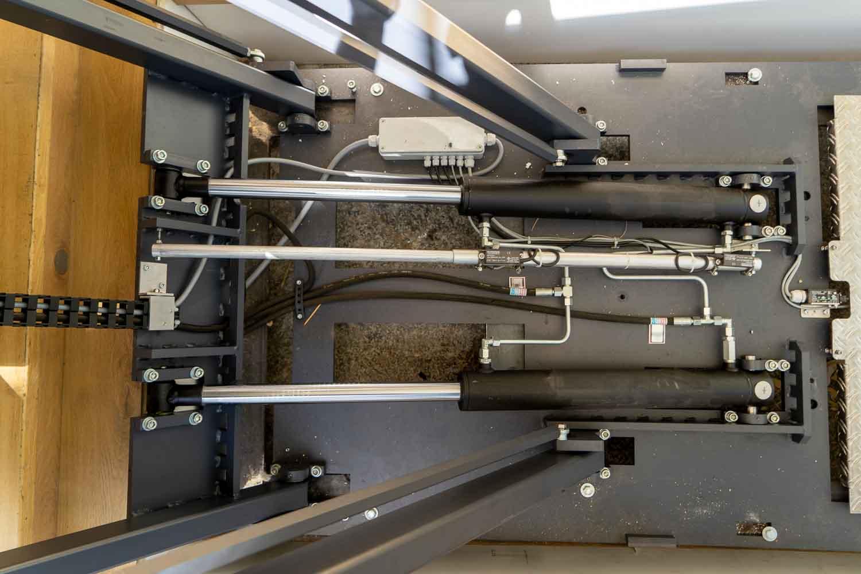 Detail Mechaniek Hydro Plateaulift van LiftForce