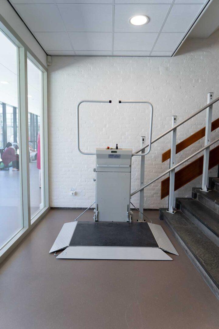 Rolstoel traplift productfoto