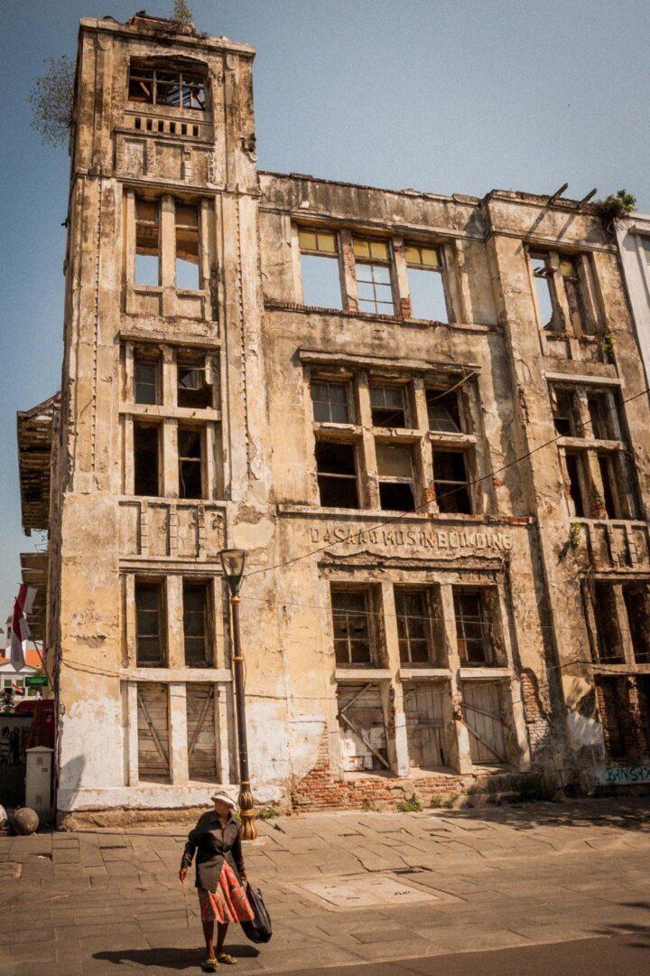 Koloniale gebouwen Batavia