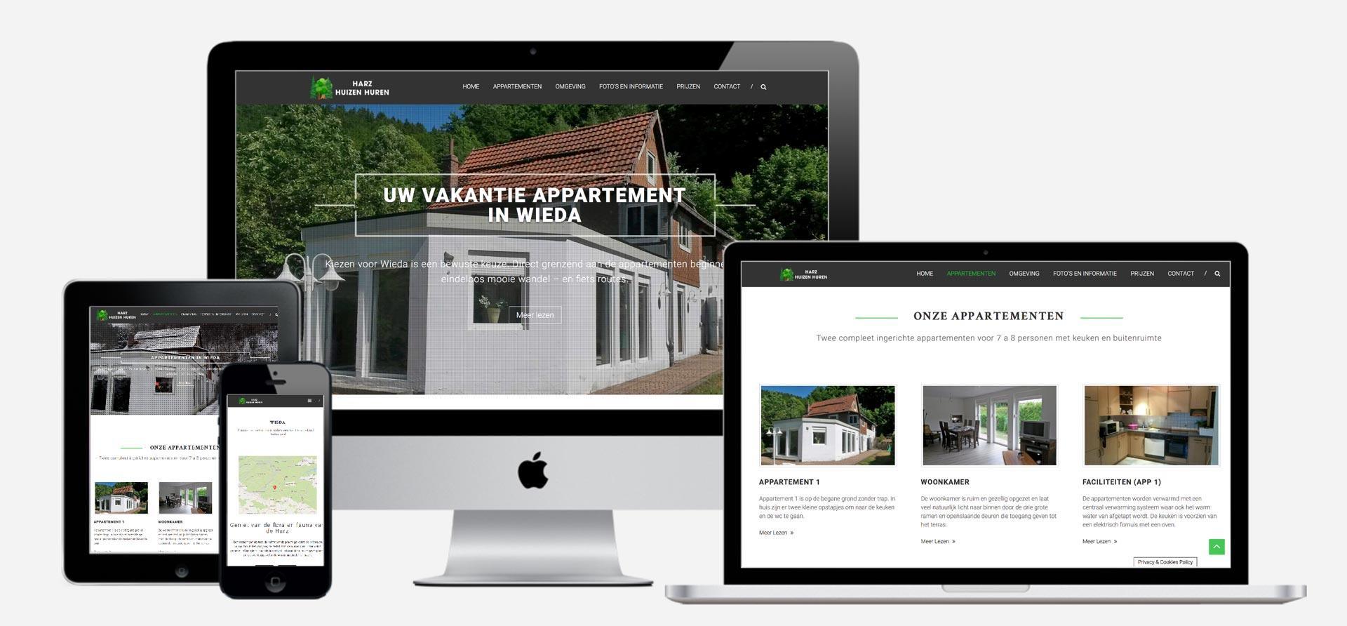 Harz Huizen huren website