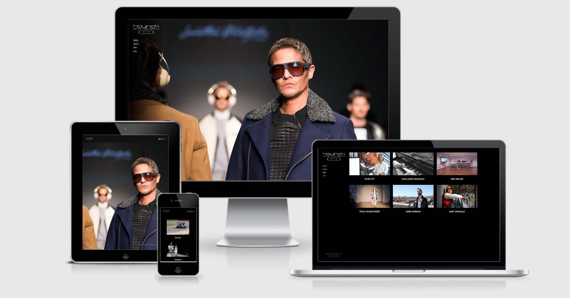 Hoyinck oude website