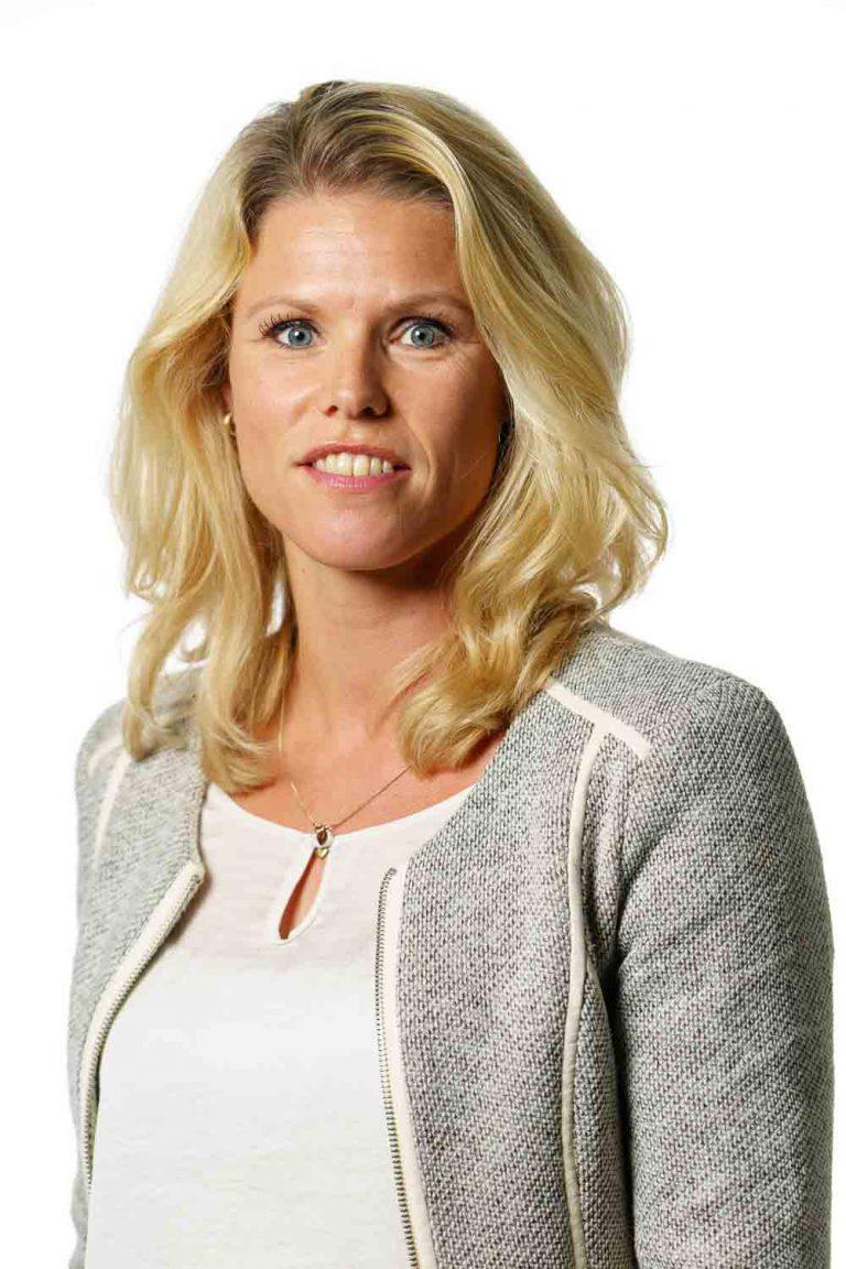 Portret van personeel voor website