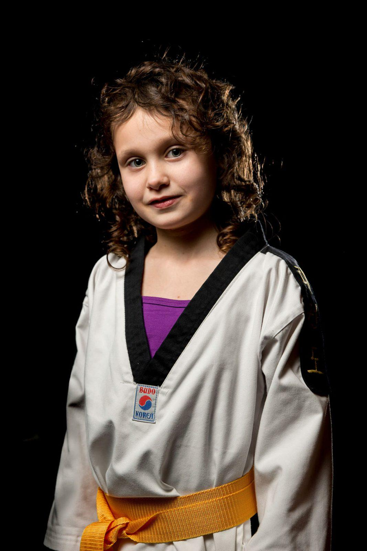 Sport fotoportret taekwondo