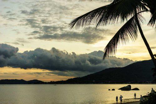 Strand van Koh Phangan