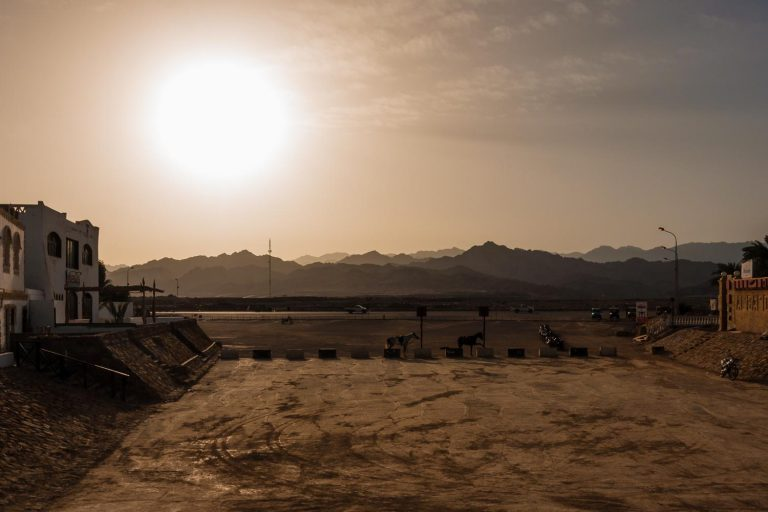 Quad & camel practice area, Dahab, Egypt