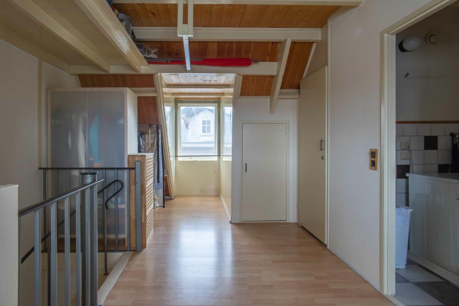 Zolder ruimte en kantoor