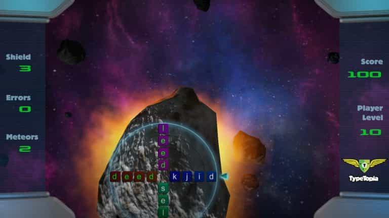 Meteorbuster WebGL game