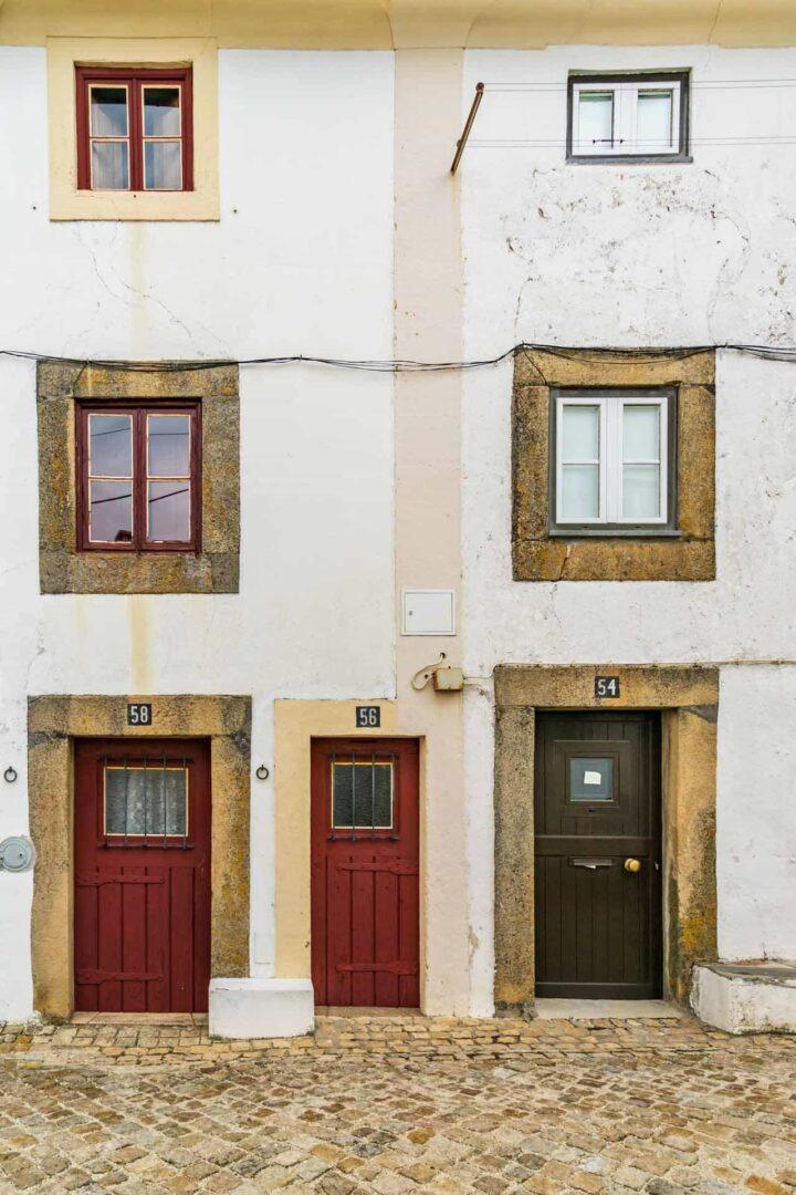 Castelo de vide huizen