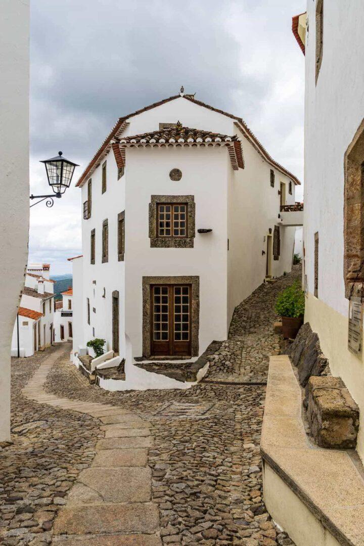 WIthin the castle walls of Marvão portugal Alentejo province