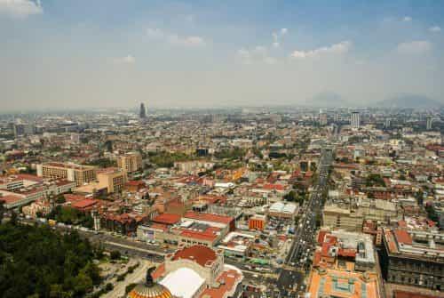 Mexico stad uitzicht