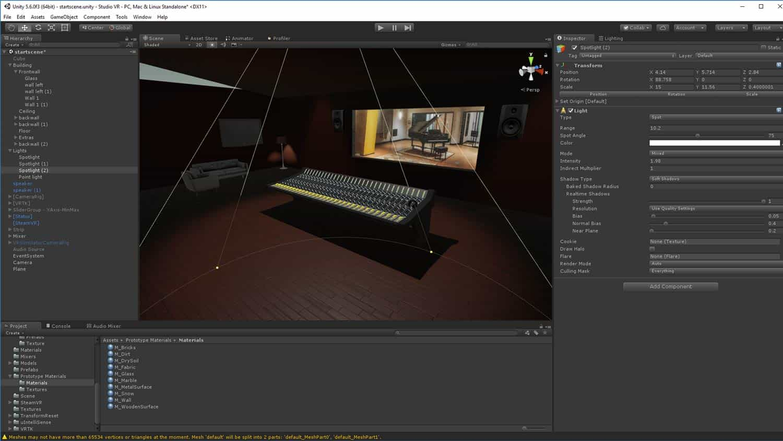 BTS building the VR recording studio