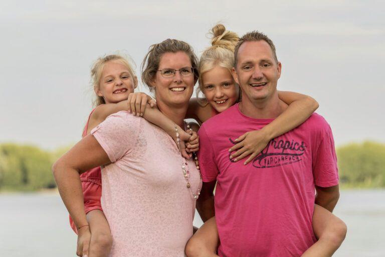 Familie fotoshoot bij zegerplas