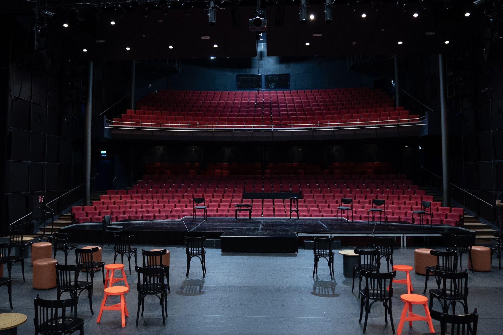 Theaterzaal Stadstheater Zoetermeer