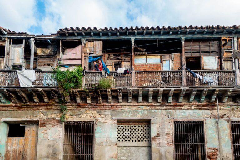Rural houses, Cuba, Santiago de Cuba