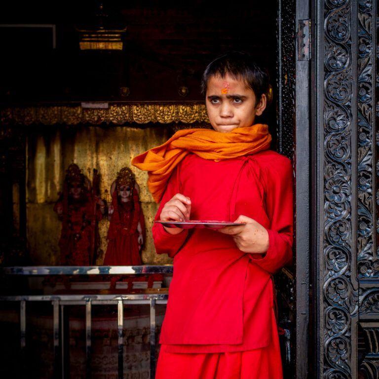 Little boy Nepal