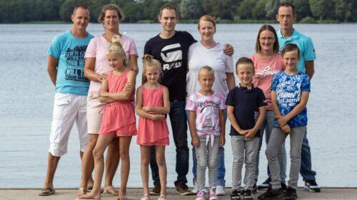 Family fotoshoot bij de Zegerplas