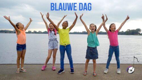 """Muziekwijs videoclip """"Blauwe Dag"""" – A-Meezing Kinderkoor"""