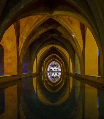 Baños de Maria Padilla en los Reales Alcázares de Sevilla